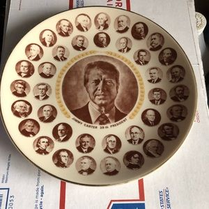 Jimmy Carter plate